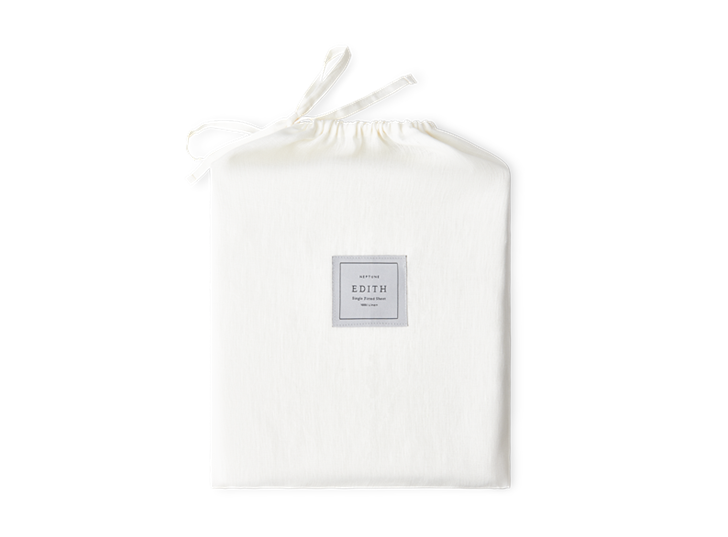 Edith Fitted Sheet Single_Front