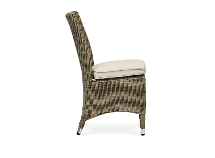 Cayton Dining Chair with Oatmeal Cushion_Garden