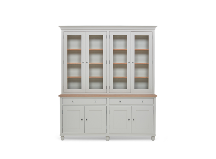 Suffolk 6ft Contemporary Dresser Silver Birch Front Closed ┬® Robert Smith 2020