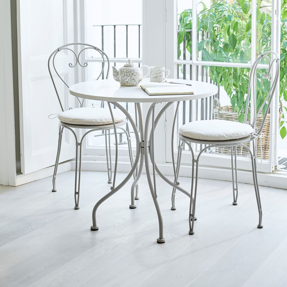 Boscombe Dining Set in Cobble_Garden Furniture_Conservatory Tea for Two