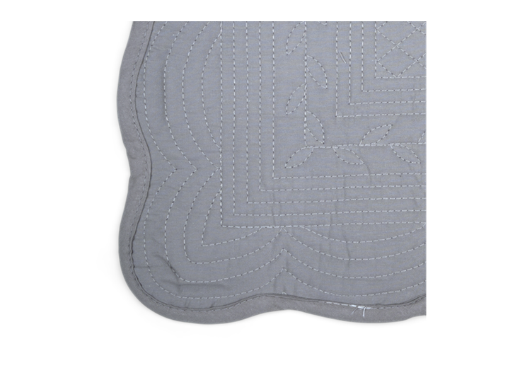 Emily Quilted Placemats Set of 6 Mist_Detail