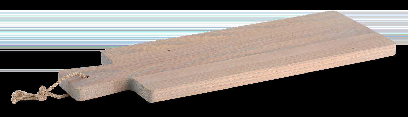 Borough Long Oak Chopping Board Seasoned Oak_3Quarter