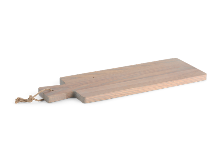 Borough Long Oak Chopping Board Seasoned Oak_3Quarter