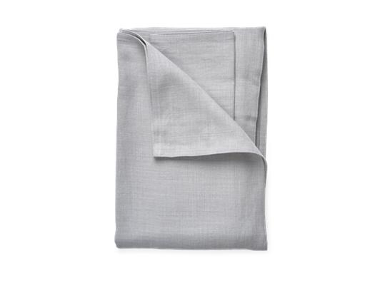 Ardel Linen Bedspread Large Fog_Top Folded