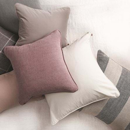 Grace Clara Warm White scatter cushion
