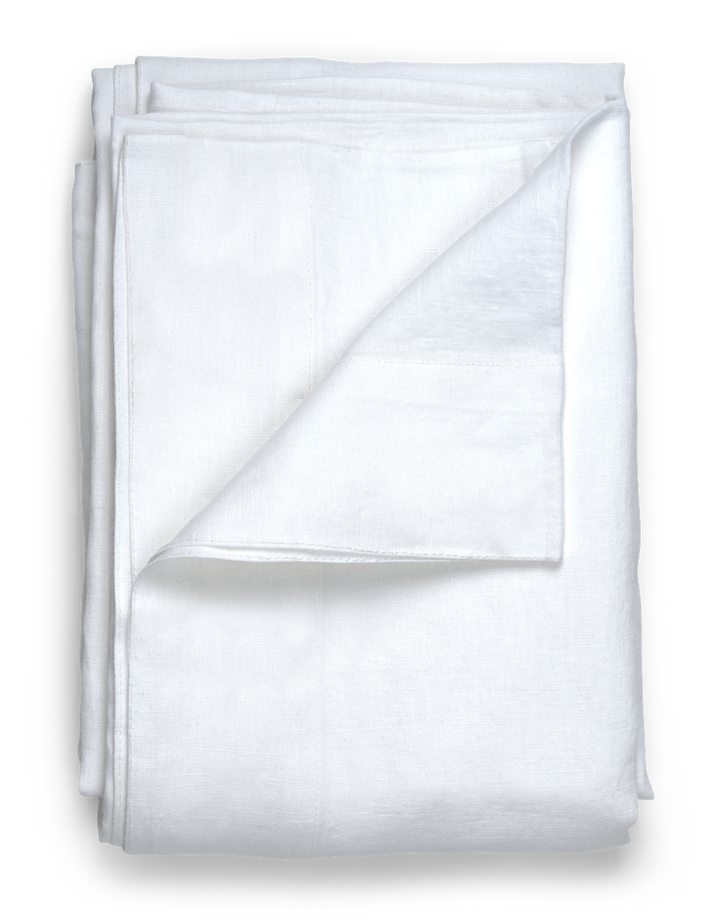 Emily Linen Tablecloth Large Salt_Top Folded