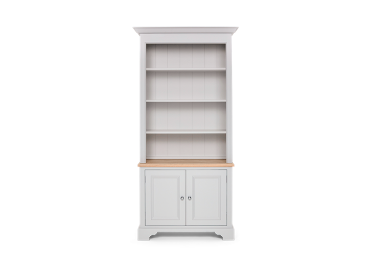 Chichester 3ft Original Bookcase Open Rack Shingle Front