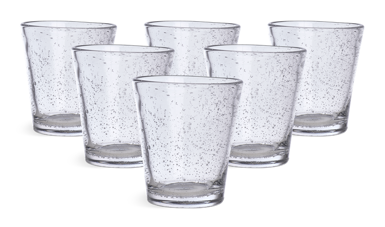 Ella Clear Tumblers set of 6