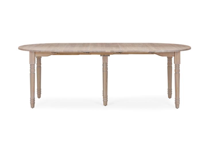Sheldrake 110-270 Extending Table_Seasoned Oak_FrontExtended 1