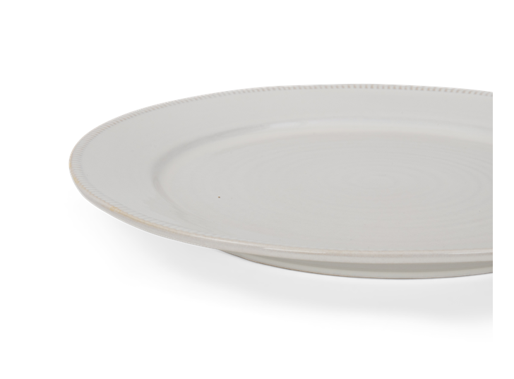 Sutton dinner plate, off white, 5 rim
