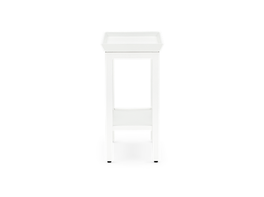 Aldwych rectangular side table Snow side