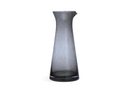 Ella Glass Jug - Charcoal 1