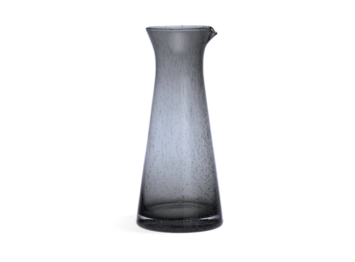 Ella Glass Jug - Charcoal 1