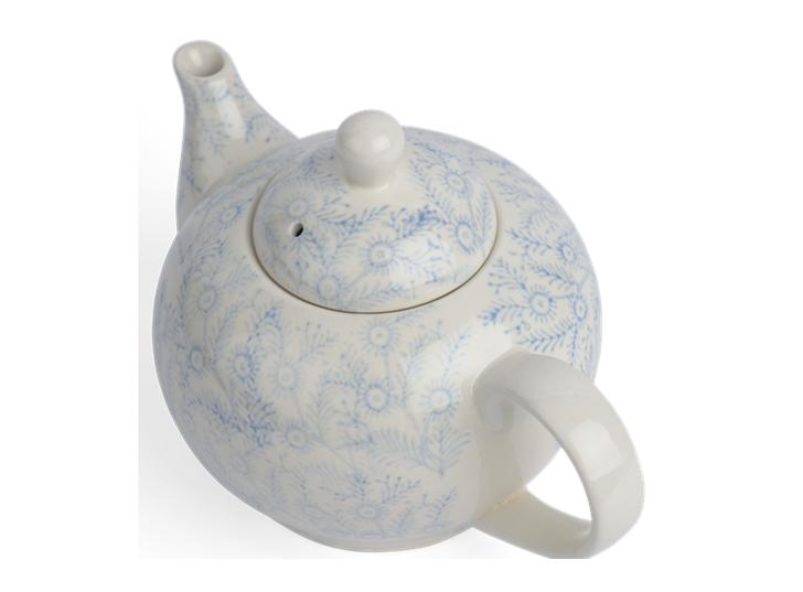 Olney Teapot - Flax Blue 4