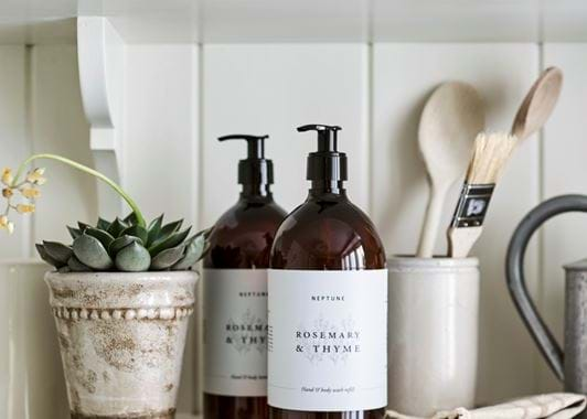 Rosemary & Thyme - Hand and Body Lotion - 1L
