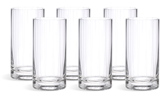 Mayfair High Ball Glasses, set of 6