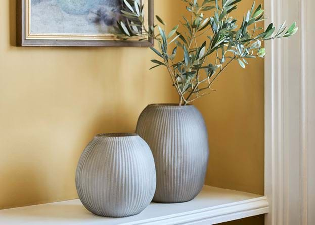 alconbury grey vase