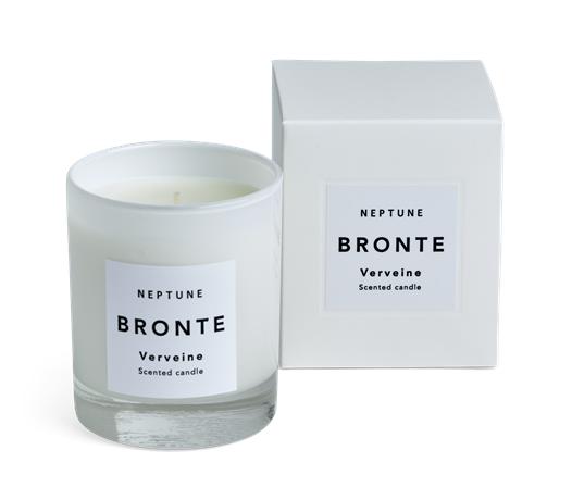 Bronte Verveine Scented Candle, White Box