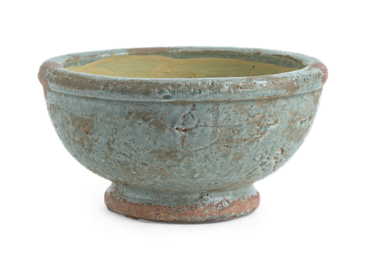 Broseley Footed Pot Moss_Front