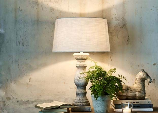 Hanley Pillar Lamp Console Table