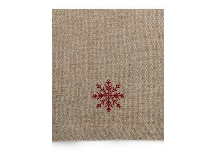 Elden snowflake napkins - detail