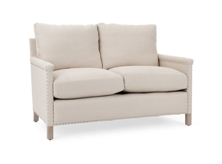 Casper 2 seater, hugo pale oak, 3quarter copy