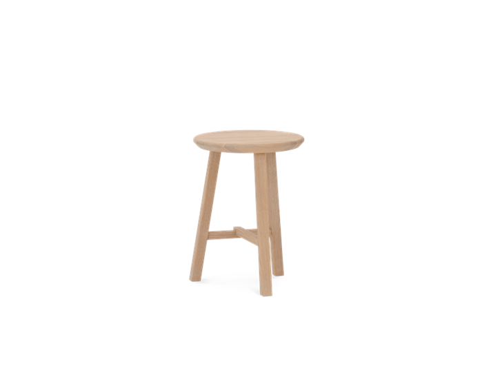 Northwich Stool Natural Oak_3Quarter