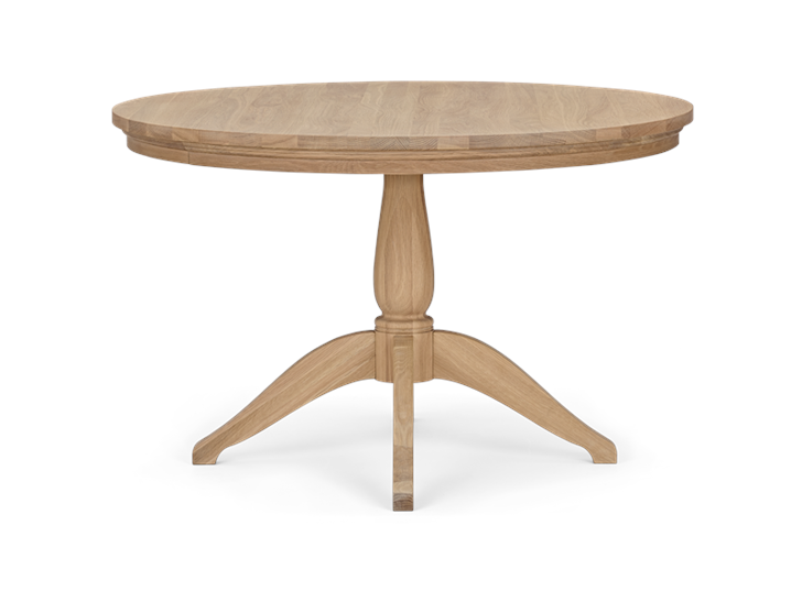 Henley 120 Round Table_Oak_Front