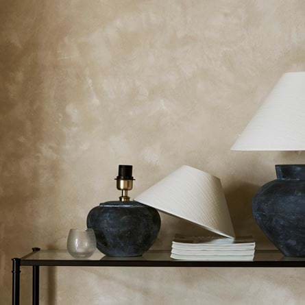 Herstal Table Lamps with Oliver 12 & 18 Inch Shades