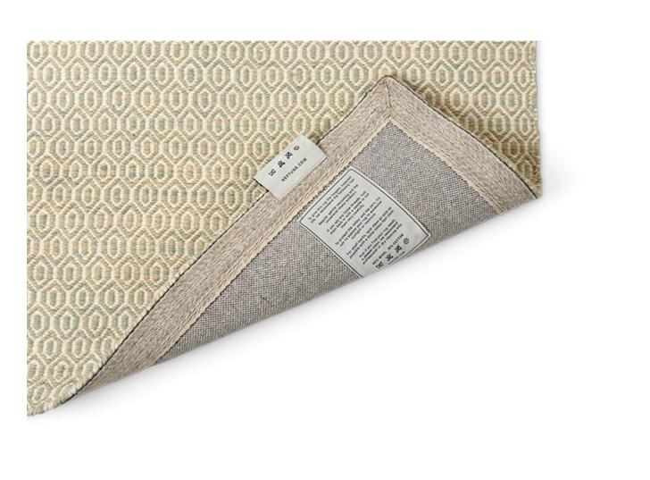 Alderbury geometric rug 70x240_soft taupe_detail 1
