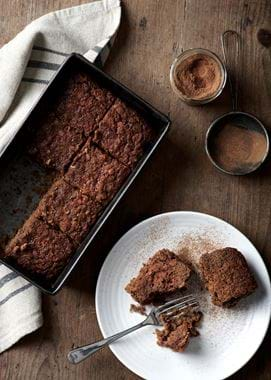 Bonfire Night Recipes_Parkin Cake