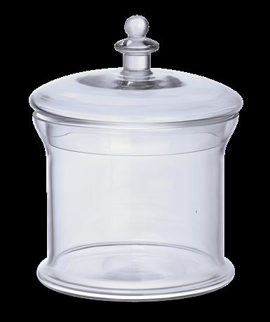 Belmont Glass Jar, Medium 1