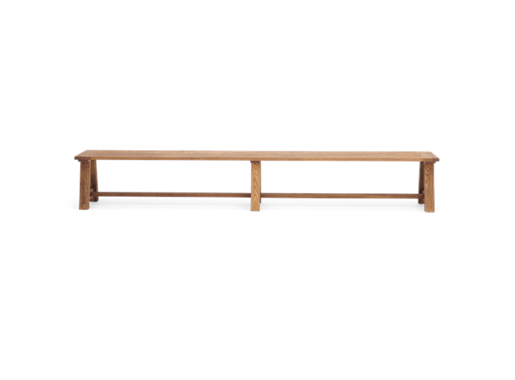 Arundel_280 Bench_Dark Oak_Front