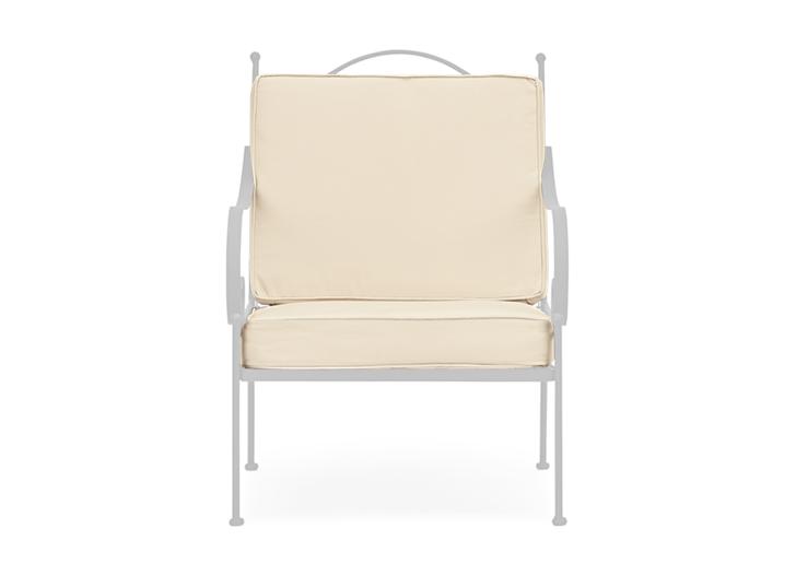 Cheltenham armhair cushion