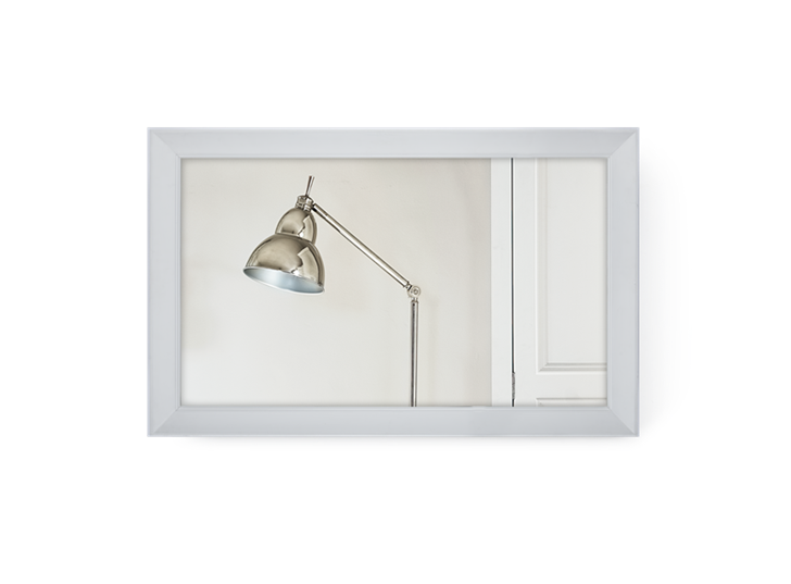 Lynton 43 TV Mirror_Snow_Front