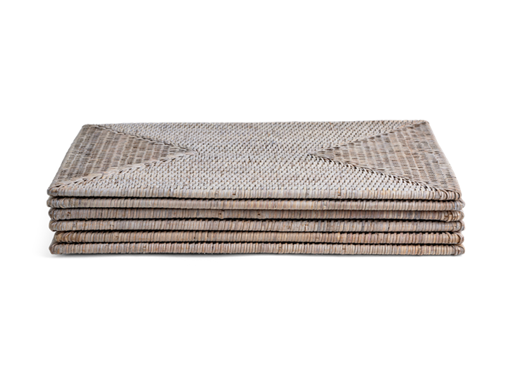 Ashcroft Rectangular Placemats Set of 6_Stack