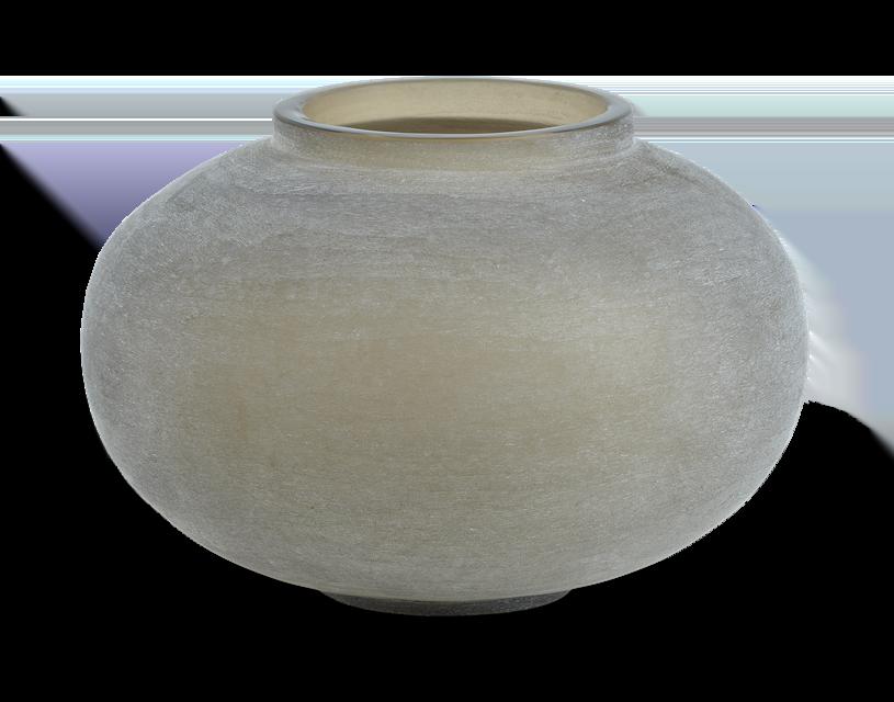 Alconbury Round Vase Small Grey_Front