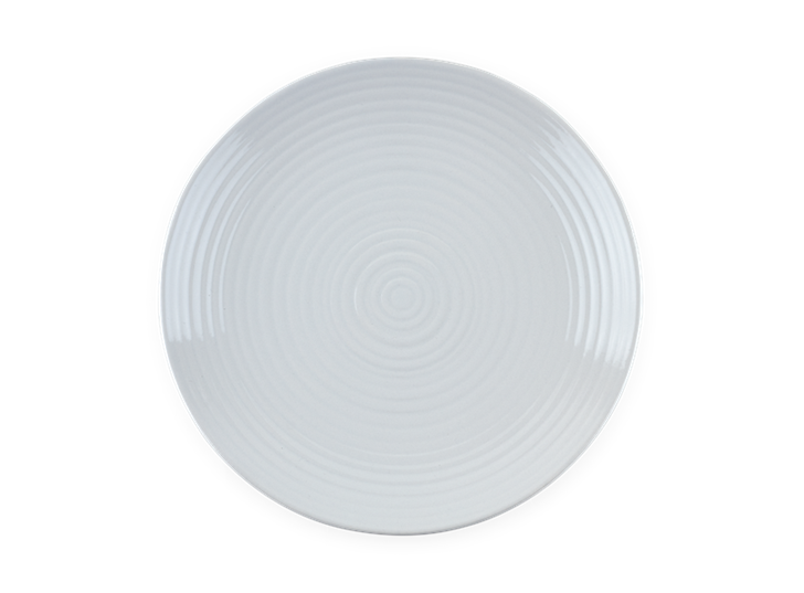 Lewes Dinner Plate Grey_Top