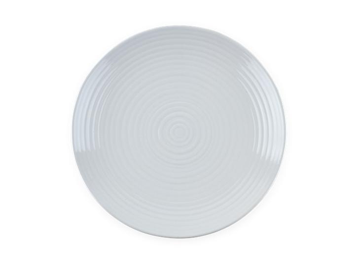 Lewes Dinner Plate Grey_Top