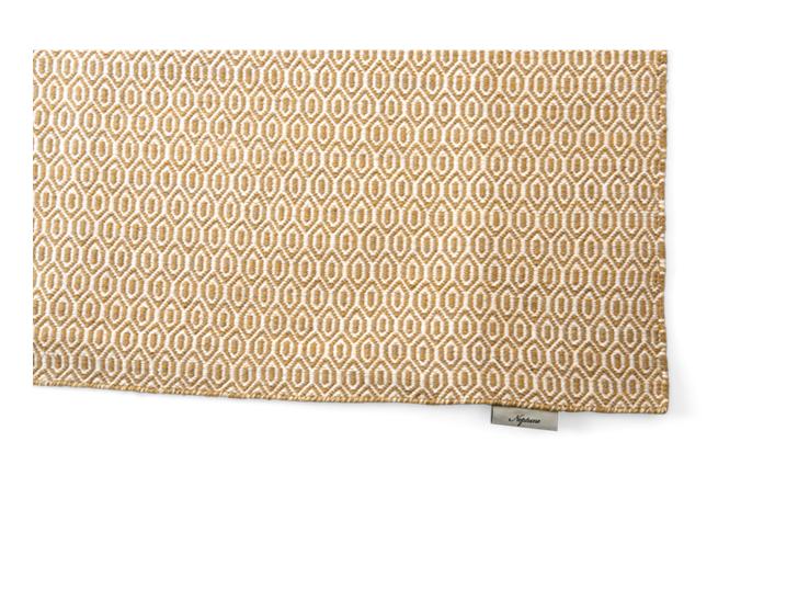 Alderbury geometric rug 200x300_saffron_detail 4