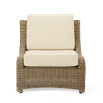 Hayburn Relaxed Armchair Back and Seat Cushions,, Oatmeal