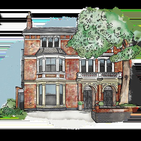 Edgbaston_Front_Watercolour_Illustration_