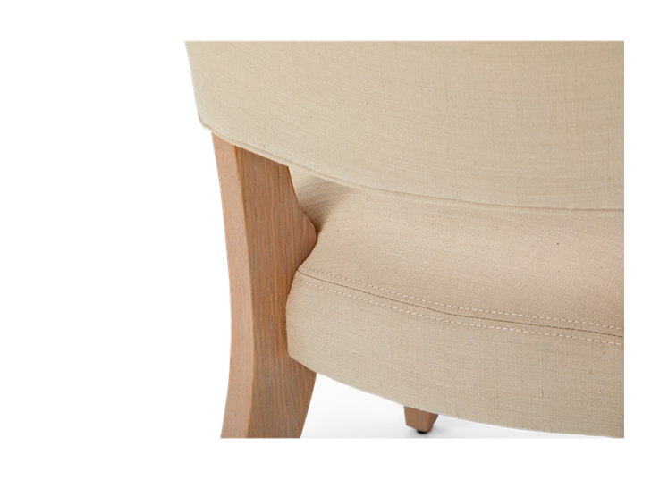 Mowbray Dining Chair_Clara Natural_Pale Oak_Detail 003