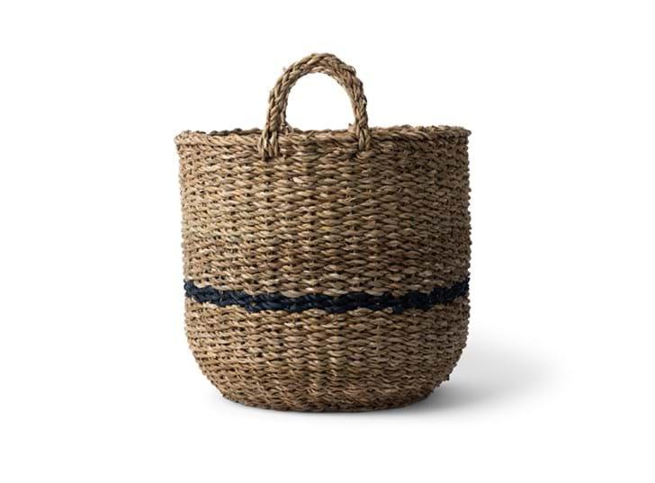 Redford log basket, small, side