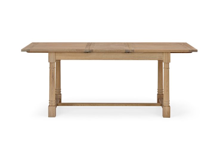 Edinburgh 150-240 Extending Table_Dark Vintage Oak_FrontExtended 2