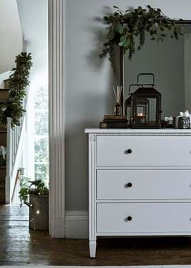 Larsson & Browning festive chest of drawers