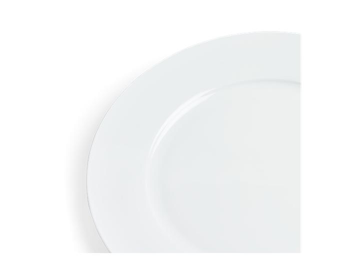 Fenton Dinner Plate Set of 6 White_Detail