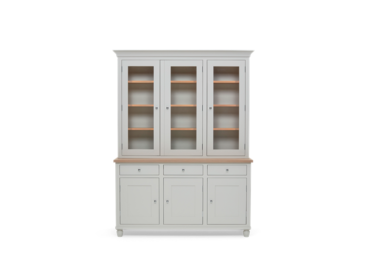 Suffolk 5ft Contemporary Dresser Silver Birch Front Closed ┬® Robert Smith 2020