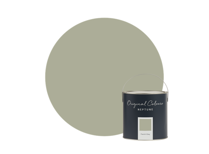 Plant French Grey tin
