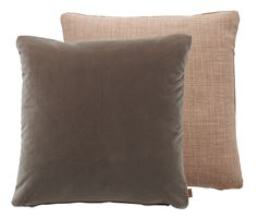 Delilah Cushion 45x45cm, Harry Apricot & Isla Otter